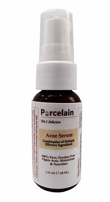 Porcelain Skin Anti Acne Treatment Serum Potent Formula for Men, Women and -