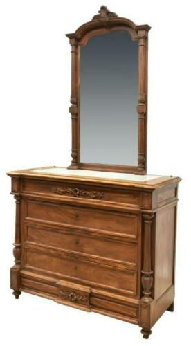 French Louis Phillipe Mirrored Commode, 19th Century ( 1800s )