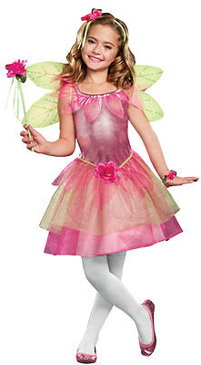Flower Fairy Costume for Girls size 4-6 New by Dreamgirl 9564](Costume For Fairy)