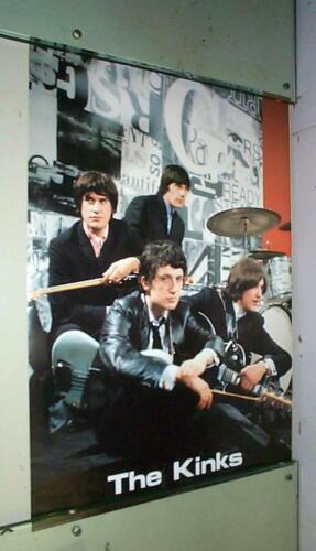 THE KINKS Vintage Photo Poster