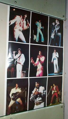 ELVIS PRESLEY Collage Vintage 1979 POSTER LAST ONE