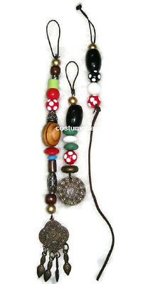 exact Jack Sparrow styled Pirate HAIR BEADS for wig (Jack Sparrow Wig)