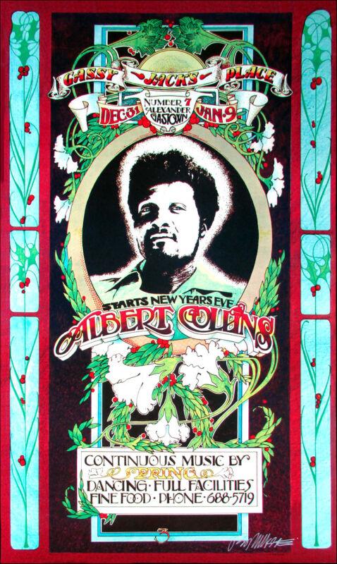 Albert Collins Poster Gassy Jack