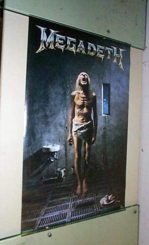 MEGADETH LP Cover 1992 Poster