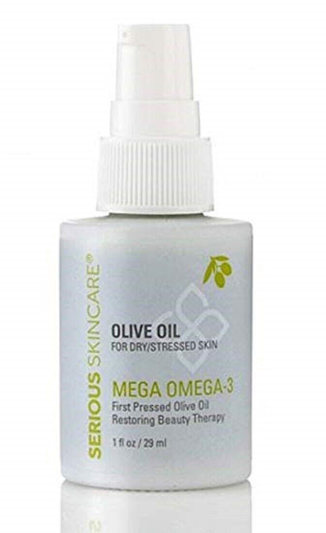 Serious Skincare Olive Oil Mega Omega -3  1 fl. oz. NEW