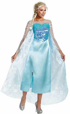 Disguise Disney Elsa Frozen Adult - Disguise Elsa Costume