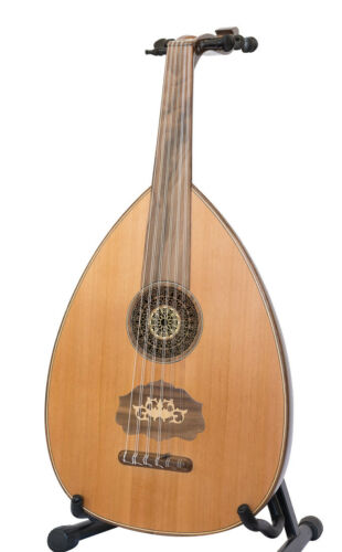 Professional Syrian Oud High Quality Nahat Style Made by Mansur Haidar