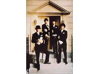 Paul 1960/'s Grey BEATLES Suit George,Ringo COMPLETE FANCY DRESS KIDS SET John