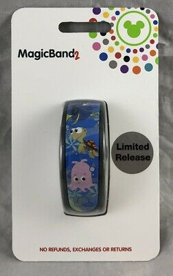 Disney Parks The Seas with Nemo & Friends Finding Magic Band 2 WDW LR - NEW