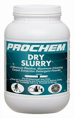 Prochem Dry Slurry - Carpet Extraction Detergent Powder 1 Case 4-6 Lb Jugs