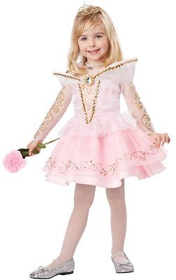 Sleeping Beauty Deluxe Costume for Toddlers by California Costume size 3-4 & 4-6 - Costume For 3