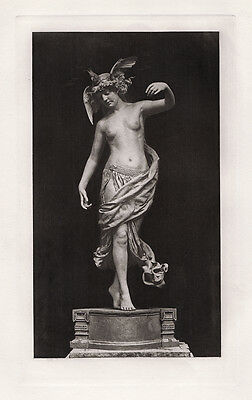 "LOOK 1800s EDWARD ONSLOW FORD Antique Print ""The Sweet Little Dancer"" Framed COA"