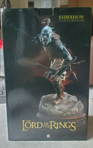 LOTR Sideshow Premium Format Black Orc Scout Lord of the Rings #225