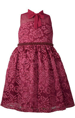 Bonnie Jean Big Girls 7-16 Sleeveless Beaded Waist Holiday  Party Dress ](Party Dresses Girls 7 16)