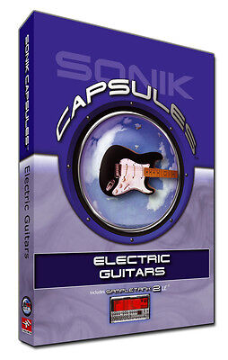 IK Multimedia Sonik Capsules: Electric Guitars Price Reduction!