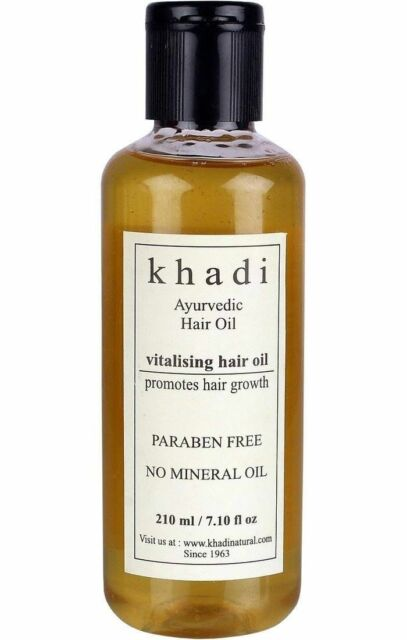 Khadi Ayurvedic Hair Growth Vitalising (Paraben Free) Hair Oil 210 ML