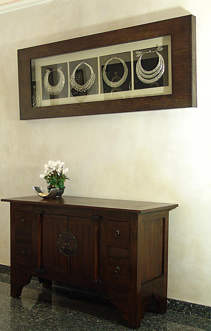 massiv sideboard kommode schrank holz kolonial massivholz kolonialstil tv anrich eur 429 00. Black Bedroom Furniture Sets. Home Design Ideas