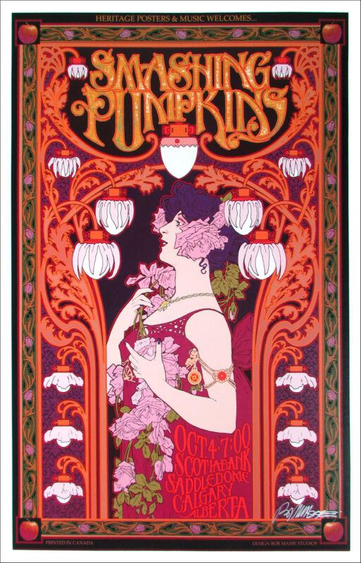 Smashing Pumpkins Poster Saddledome