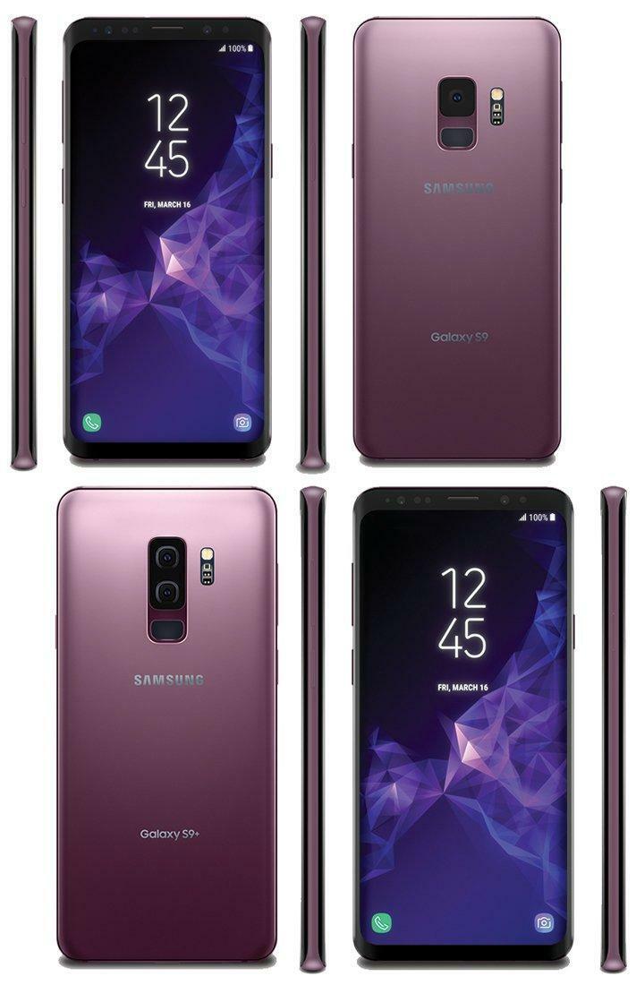 MANUFACTURER REFURBISHED SAMSUNG GALAXY S9+ PLUS G965U GSM UNLOCKED SMARTPHONE ANDROID 4G LTE 64GB