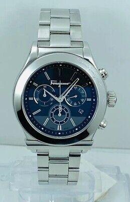 Ferragamo 1898 F78LCQ9909S099 Multifunction Chronograph Watch F78LCQ