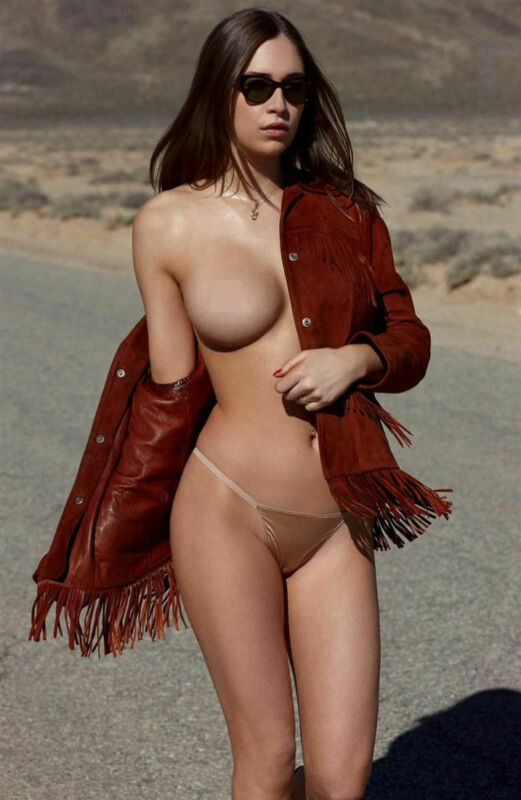 Elsie Hewitt With Her Red Vest 8x10 Picture Celebrity Print