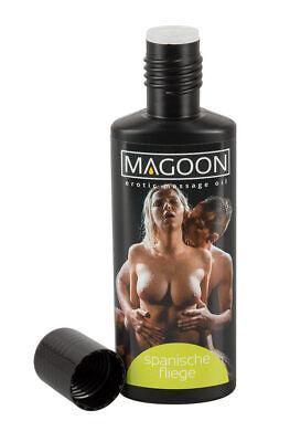 Magoon Spanische Fliege 100ml Aroma Massage-Öl erotisierend Erotik Duft Sex
