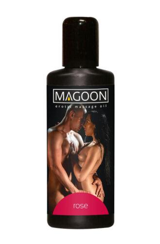 Magoon Rose Massage-Öl 100 ml Aroma Erotik Erotisch Wellness Aroma-Öl Sex