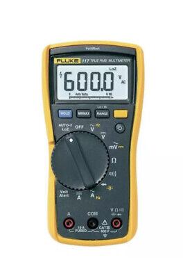 Fluke 117 Digital True Rms Digital Multimeter W Fluke Test Leads