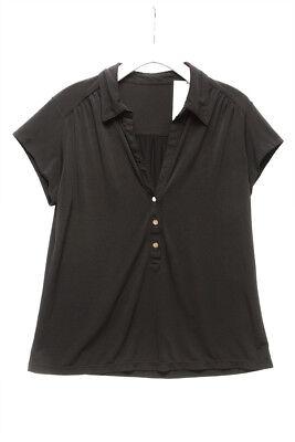 ALFANI $70 23414 Jersey Short Sleeve Shirt Womens Top PL