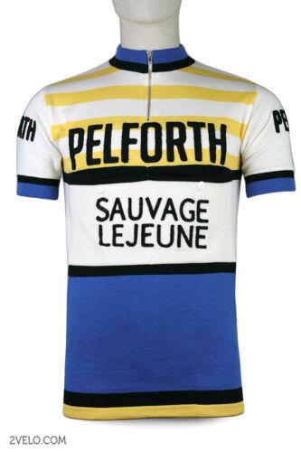 PELFORTH Sauvage Lejeune vintage wool jersey, new, never worn XXL
