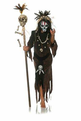 Underwraps Hex Voodoo Costume Dress Black Magic Witch - Black Magic Hexe Kostüme