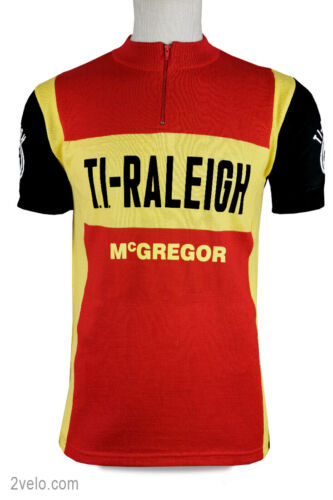 TI RALEIGH Mc Gregor vintage style wool jersey, new, never worn M