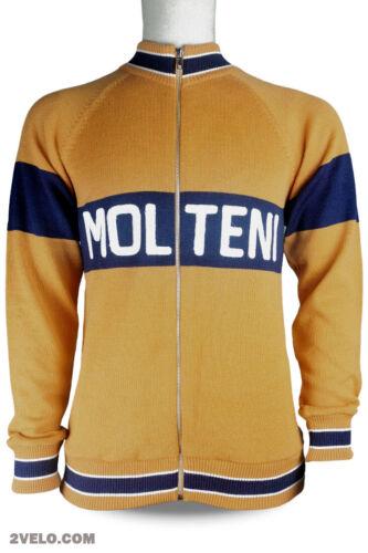 MOLTENI wool long sleeve jersey, track, training jumper, new, never worn L