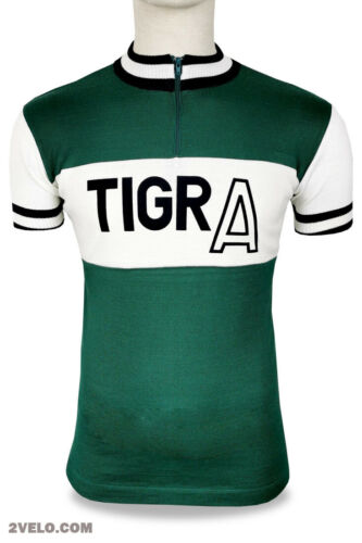 TIGRA Swiss vintage wool jersey, new, never worn S