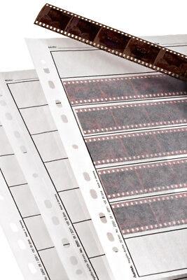 Hama 35mm   25x Negative Strip Sleeves Storage Pages - translucent Glassine