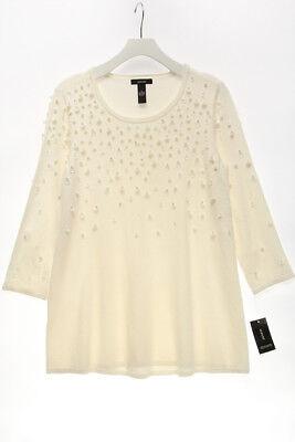 ALFANI $99.5 NEW 23553 Embellished Swing Sweater Womens Top S