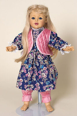 Mignon vinyl collectible doll by Joke Grobben for Gotz