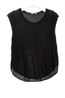 WILFRED NEW 23210 Cap Sleeve Crop Tank Tee Womens Top XS