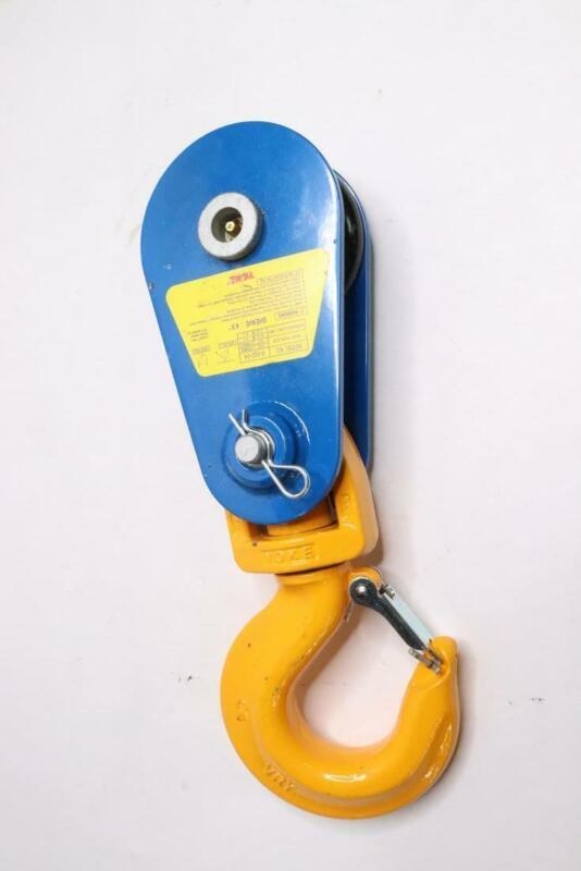 Yoke 8-502-04 Snatch Block Swivel Hook 8000 lb. Capacity