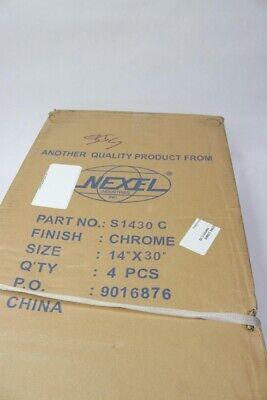 Qty 4 - Nexel® Chrome Wire Shelf 30