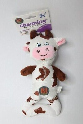 Charming Pet Pattern Patches Cow Dog Toy