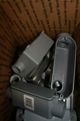 11 Lbs - Lot Of Assorted Electrical Conduit Boxes