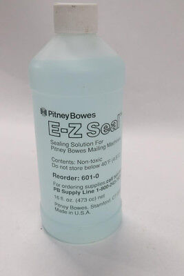 Pitney Bowes 601-0 E-z Seal Solution Mailing Machines 16 Oz