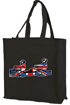 Buy best rowers - Best Of British Sport, Union Jack Rowing Cotton Shopping Bag