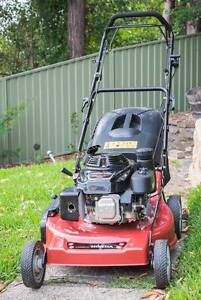 self propelled lawn mower in sydney region nsw gumtree. Black Bedroom Furniture Sets. Home Design Ideas