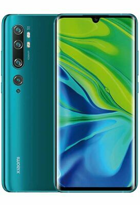 Xiaomi Mi Note 10 Pro Dual Sim 8gb RAM 256GB GREEN VERDE VERSIONE GLOBAL BANDA20