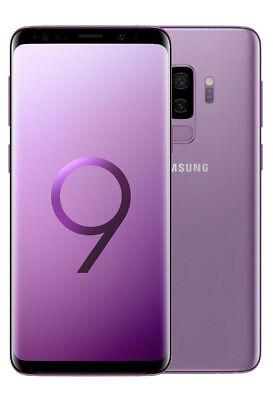 Samsung Galaxy S9+ PLUS 6.2' 64GB NUOVO Mono Sim Smartphone Purple Viola