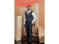 """1//6 Business Suit Set For 12/"""" PHICEN TBLeague Worldbox Muscular Figure M34 M35"""
