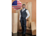 "1//6 Business Suit Set with Shoes For 12/"" PHICEN TBL Muscular Male Figure M34 M35"