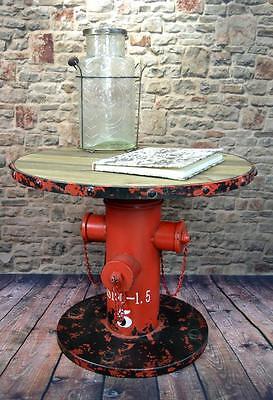 Beistelltisch Couchtisch HYDRANT Metall Vintage Industrie Look Loft LV5023  ()